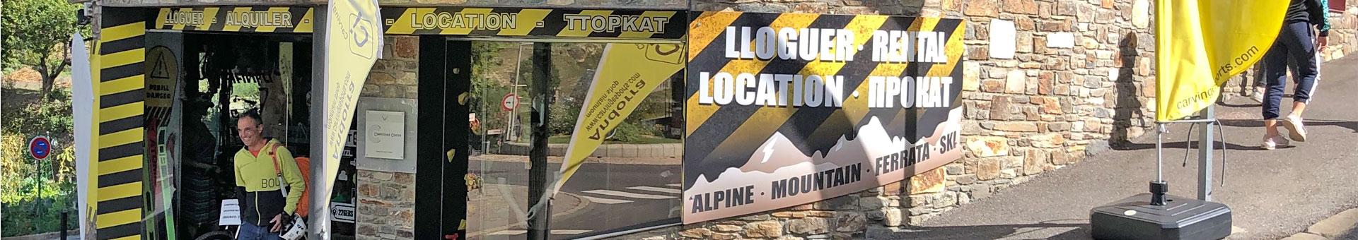 Llogar esquís a Ordino – Carving Esports