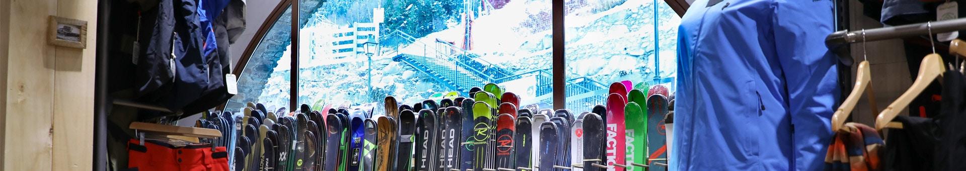 Skis rental in El Tarter – SKIZ